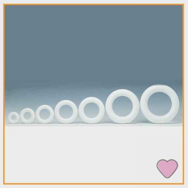 Styrofoam ringen